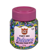 Cake Mate Decors Party Mix Sprinkles