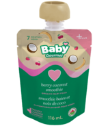 Baby Gourmet Plus Berry Coconut Smoothie Organic Baby Food