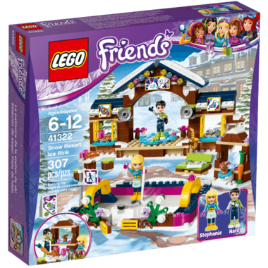 LEGO Friends Snow Resort Ice Rink