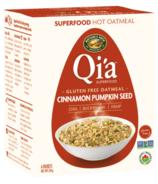 Nature's Path Qi'a Gluten Free Oatmeal Cinnamon Pumpkin Seed