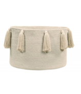 Lorena Canals Natural Basket Tassels