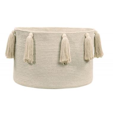 Lorena Canals Natural Basket Tassels