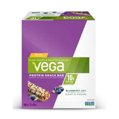 Vega Protein Snack Bar Pack Blueberry Oat