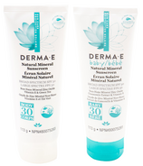 Derma E Mom Body and Baby Sunscreen Body Lotion Bundle
