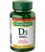 Nature's Bounty Vitamin D3 Softgels 1000 IU