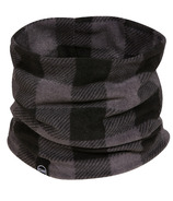 Kombi The Comfiest Neck Warmer Jr Grey Buffalo Plaid
