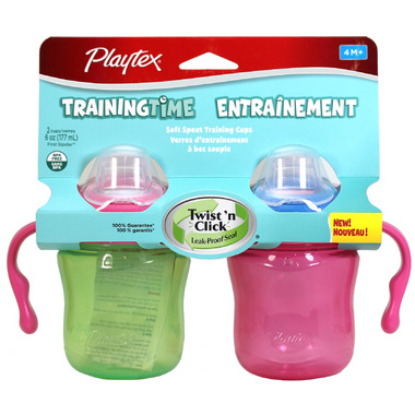Playtex TrainingTime Soft Spout Training Cups