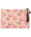 Danica Studio Small Linen Cosmetic Bag Small World