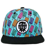 Headster Kids Snapback Hat Pop Neon