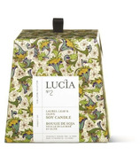 Lucia Laurel Leaf & Olive Soy Candle