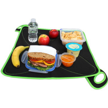 FlatBox Lunch Bag Plus Black Green