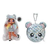 Série de poupées surprise pom glam surprise 2 en 1 Na Na Na Ari Prism