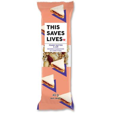 This Saves Lives Peanut Butter & Jam Bar