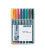 Staedtler Lumocolour Non Permanent Fine Point Markers