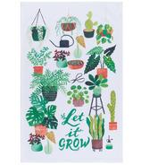 Now Designs Round Dishtowel Let It Grow