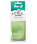Chiffon microfibre Rexall pour lentilles