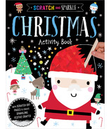 Make Believe Ideas Scratch & Sparkle Christmas Activity Book