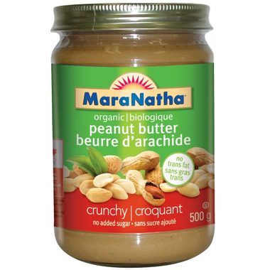 MaraNatha Crunchy Organic Peanut Butter
