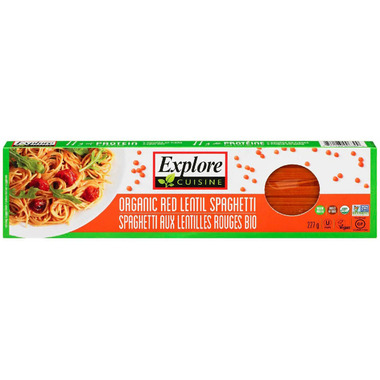 Explore Organic Red Lentil Spaghetti