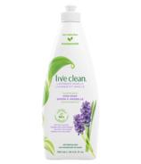 Live Clean Dish Soap Lavender Vanilla