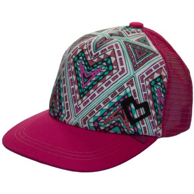 Calikids Trucker Hat Raspberry Combo