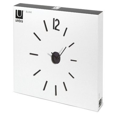Umbra Blink Clock Black