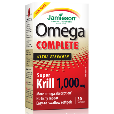Jamieson Omega Complete Super Krill Ultra Strength