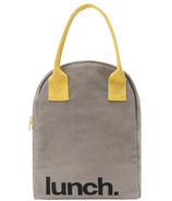 Fluf Zippered Lunch Grey