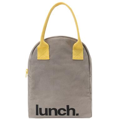 15111b11b345 Fluf Zippered Lunch Grey