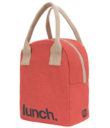 Fluf Zippered Lunch Red Lunch