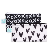 Bumkins Reusable Snack Bag Small Hearts & XOXO