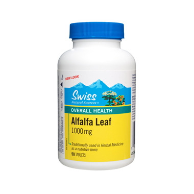Swiss Natural Sources Alfalfa Leaf 1000mg