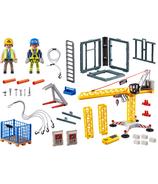 Grue City Action RC de Playmobil avec section de construction