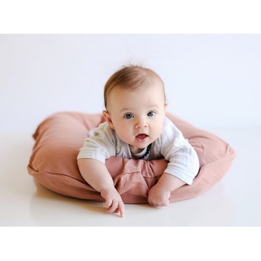 Snuggle Me Organic Linen Cover Rosewood