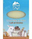 Mountain Sky Goat Milk & Oats Bar Soap