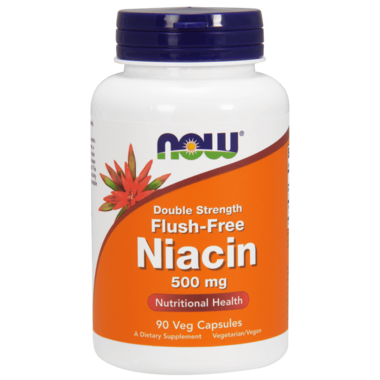 NOW Foods Flush-Free Niacin Double Strength