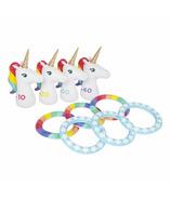 SunnyLife Inflatable Ring Toss Set Unicorn
