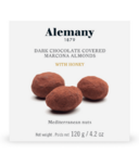 Alemany Dark Chocolate Covered Marcona Almonds with Honey