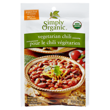 Simply Organic Vegetarian Chili Seasoning Mix