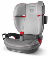 UPPAbaby ALTA High Back Booster Seat Sasha Heather Grey & Light Grey