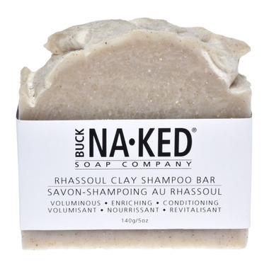 Buck Naked Soap Company Rhassoul Clay Shampoo Bar