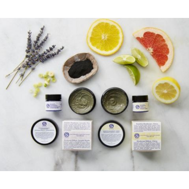 Soapwalla Sensitive Skin Deodorant Cream Citrus
