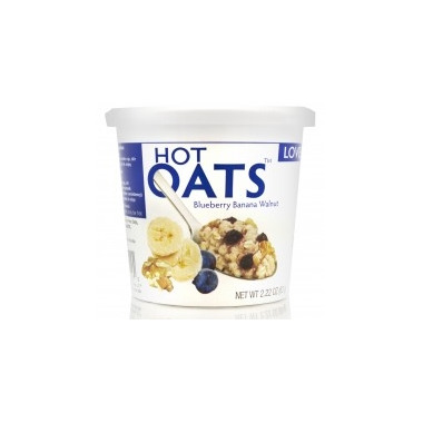Love Grown Foods Hot Oats Blueberry Banana Walnut