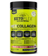 Nuvocare Ketoplex MCT Collagen Vanilla Cream