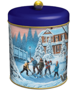 Waterbridge Limited Edition Pond Hockey Biscuit Tin