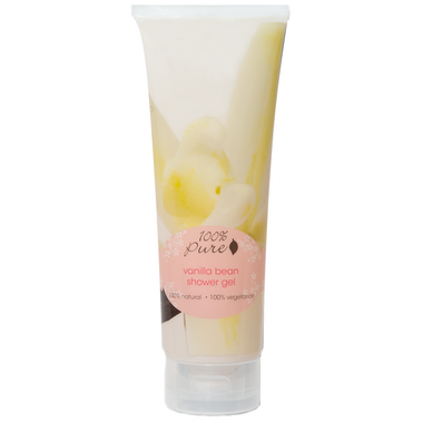 100% Pure Vanilla Bean Shower Gel