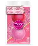 eos Holiday Lip Balm Strawberry Cheer and Candy Cane Swirl