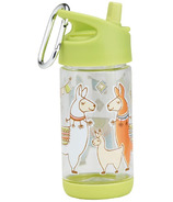 Sugarbooger Flip and Sip Clear Tritan Bottle Llama