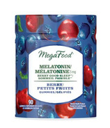 MegaFood Melatonin Berry Good Sleep Gummies Berry