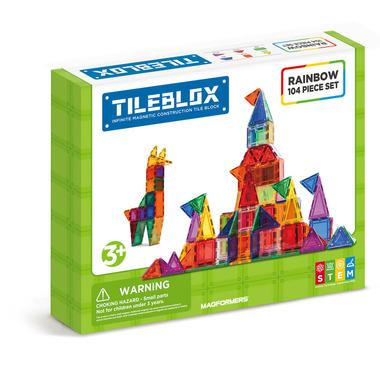 Tileblox Rainbow Piece Set